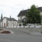Alte Kirche und Rathaus