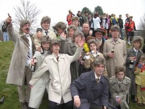 Karnevalsfreunde in Staudt