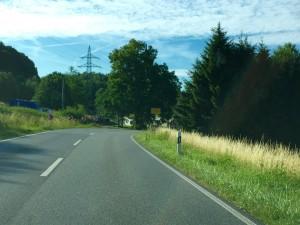 Ortseinfahrt Eschelbach.