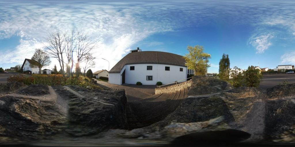 Staudter Kirche, 360 Grad Ansicht